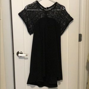 Milly contrast weave dress alice olivia cinq sept